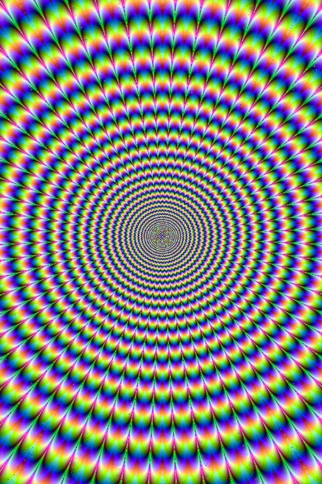 Deep optical illusion