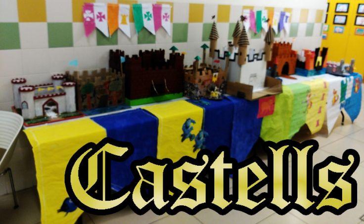 Els castells de l'edat mitjana. Maquetes de Castells. Treball de Ciències Socials.