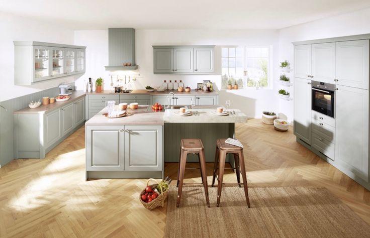 Kuchyně Mara zelená  #Kitchen #Provencekuchyně #kuchyne #modernikuchyne