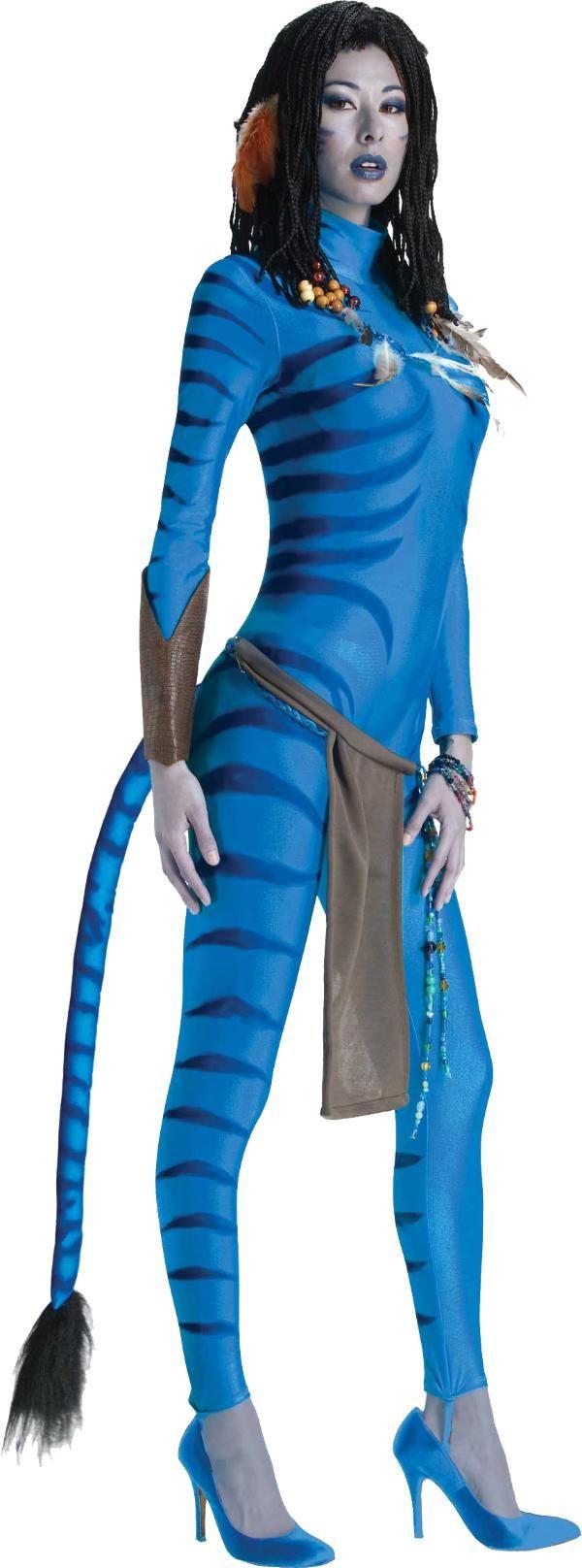 Avatar Neytiri™ kostuum voor vrouwen: Dit Neytiri kostuum van Avatar bestaat uit een elastisch pak voor aangenaam en nauw aansluitend draagcomfort (pruik niet inbegrepen). Voelt zacht aan en komt tot aan de hals zodat het er net als...