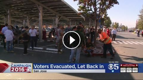 Santa Clara Co. Registrar Of Voters Briefly Evacuated On Election Day: As the Santa Clara County Registrar of Voters deals with a record…