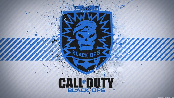 Call of duty black ops logo preety cool