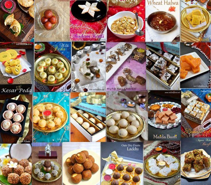 Gujiya, Gulab Jamun, Ladoo, Burfi, Peda and much more all diwali sweets collection