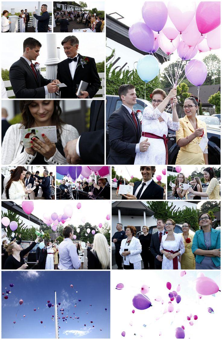 balloon on the wedding