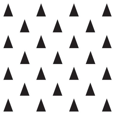 Triangle decal