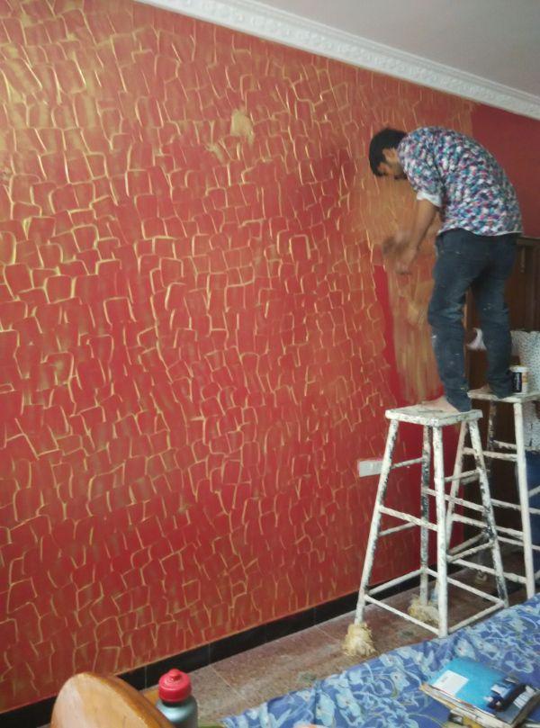 Asian Paint Spatula Texture By Colourdrive Design Ideas Textures Ideas Inspiration For Ho Asian Paints Wall Designs Wall Texture Design Wall Paint Designs