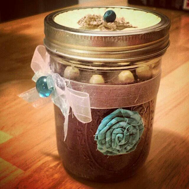 My first homemade candle!