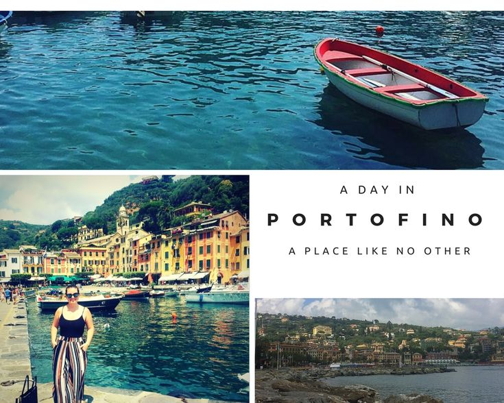 Fall in love with Portofino, Italy. They literally roll the red carpet out for you.