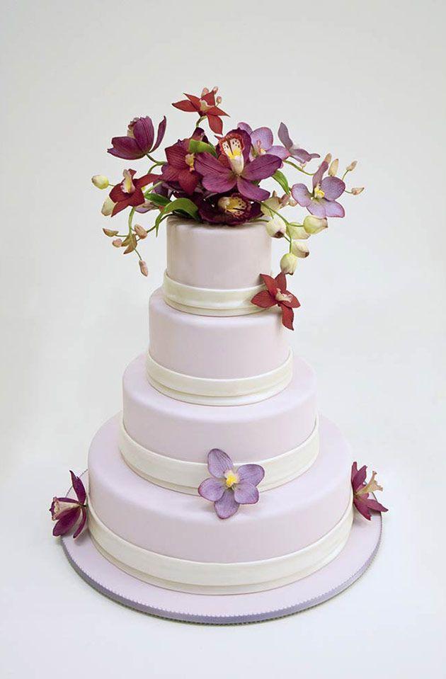 38 best Floral Wedding Cakes images on Pinterest | Floral ...