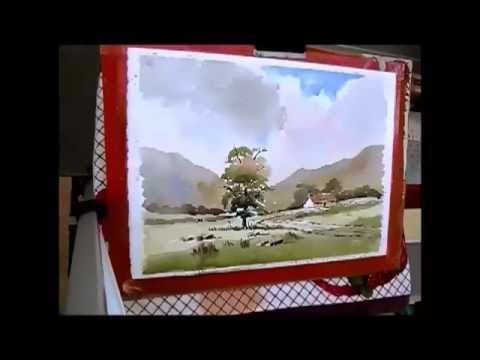 loose watercolor landscape with Alan Owen - YouTube