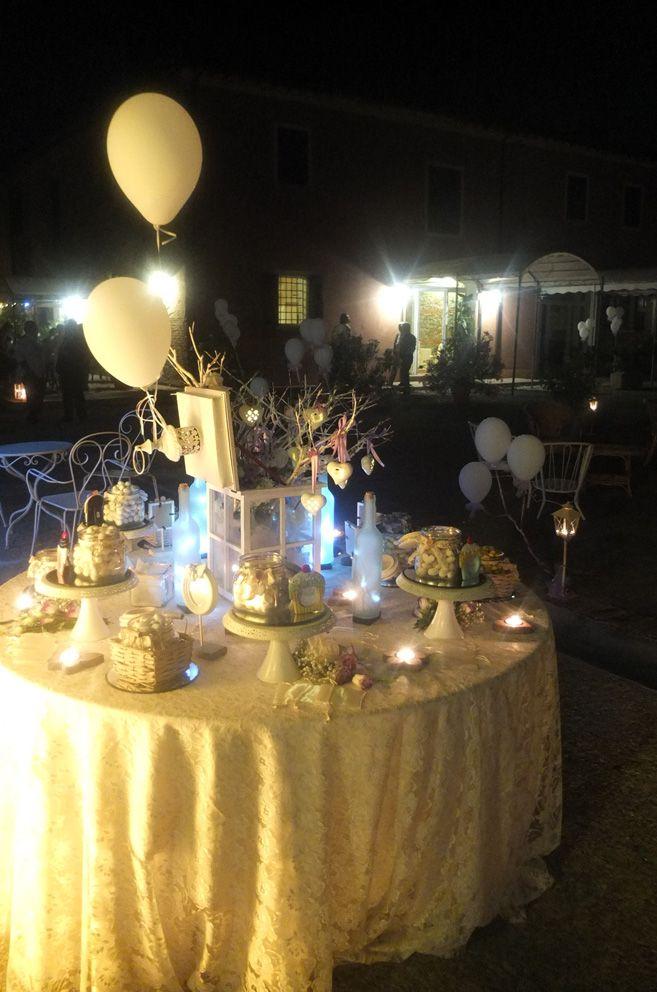 Confettata sotto le stelle, by Eventi Wedding, presso Corte Dei Paduli - Wedding Location- Reggio E., Italy.