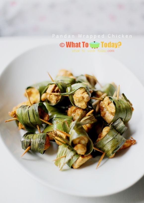 PANDAN-WRAPPED CHICKEN | WHAT TO COOK TODAY?