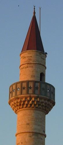Kos Town :  Sunset on Defterdar Mosque  Grecia