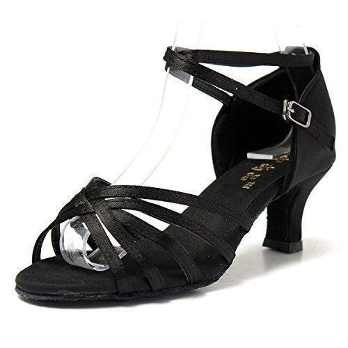 Oferta: 9.72€. Comprar Ofertas de Mujer Zapatos Tacon - Generico 1 par Mujer Zapatos Tacon De Salsa Bachata Latinos Baile Sandalias Latin Shoe, Negro 40 barato. ¡Mira las ofertas!