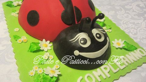 Torta coccinella... come fare la base!
