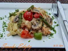 Smaki Edyty: Kurczak cajun z szparagami