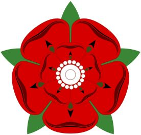 The House of Lancaster 1399-1471; it's badge the red rose.Henry IV came to the English throne by force. He made his cousin Richard ll, abdicate, & seized the crown. This started a dispute between the House of Lancaster & the House of York. Henry's coronation was the first occasion after the Norman Conquest when the monarch made an address in English.The family provided England w/ three kings: Henry IV, 1399–1413; Henry V, 1413–1422;  Henry VI of England & (II of) France, 1422–1461…
