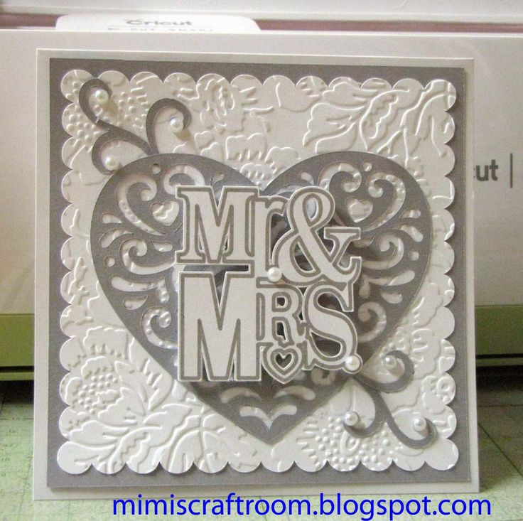 Cricut Explore Quick Elegant Wedding Card Using Write And