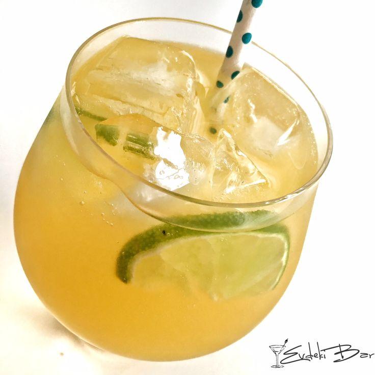Team Captain Captain Morgan Spiced Rum, sweet and sour karışımı, portakal suyu, Sprite #kokteyl #tarif #cocktail #içki #drink #booze #alkol #alcohol #recipe #mixologist #mixology #yummy #delicious