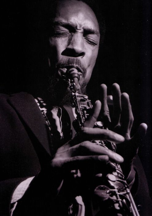 Sam Rivers pictured during his 'A New Conception' session, October 1966 by Francis Wolff