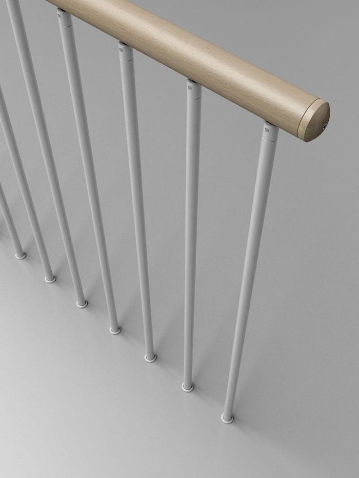 Las 25 mejores ideas sobre barandas metalicas en - Barandas de escaleras de madera ...