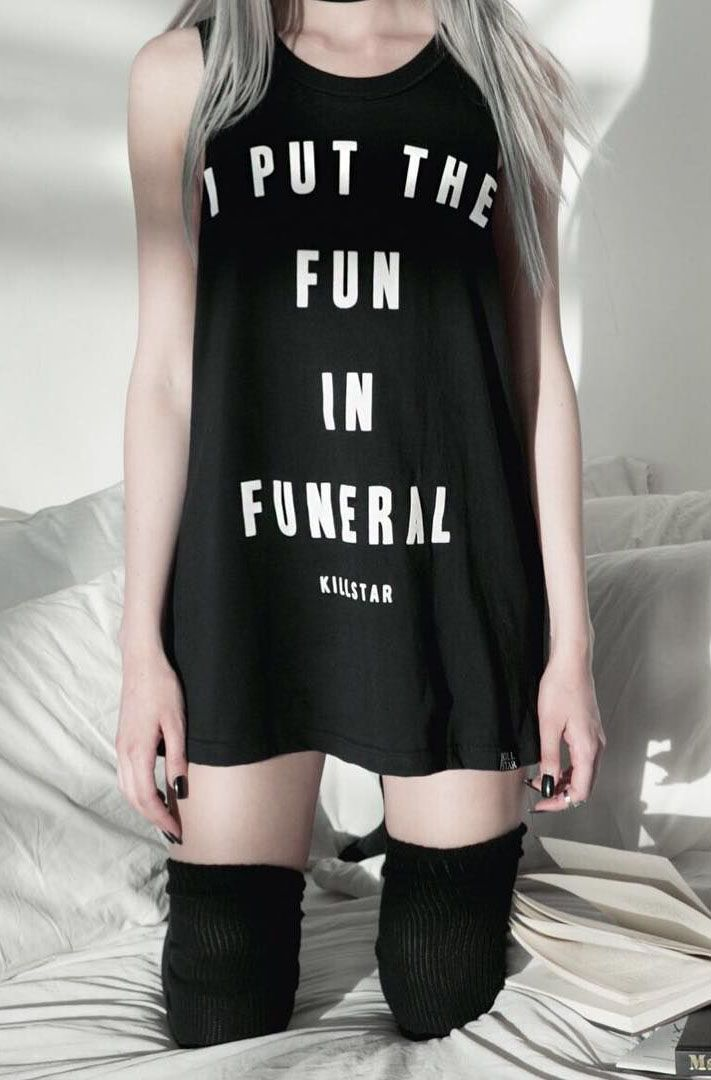 Killstar - Funeral Muscle Tank                                                                                                                                                                                 More