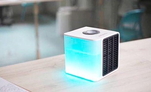 Ar-condicionado portátil funciona com água e gasta pouca energia
