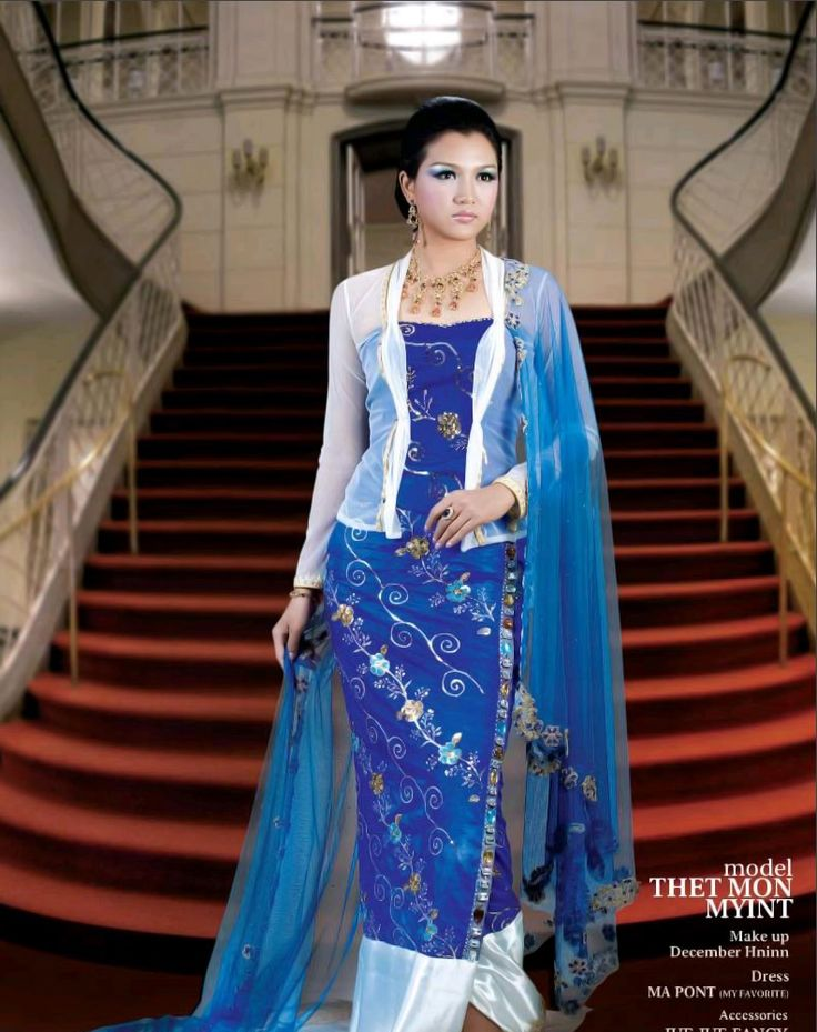 Burmese dress