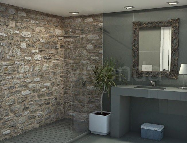 Dise os de ba os con ducha ejemplos de cuartos de ba o - Disenos de banos con ducha ...
