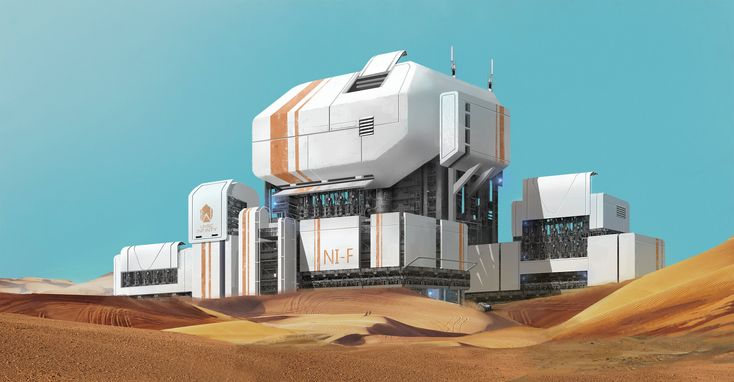 Outpost, jessi ji | | Sci-Fi Hardware Concepts ...