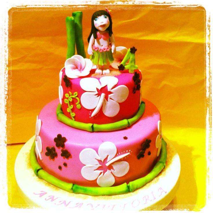 baby hawaian cake