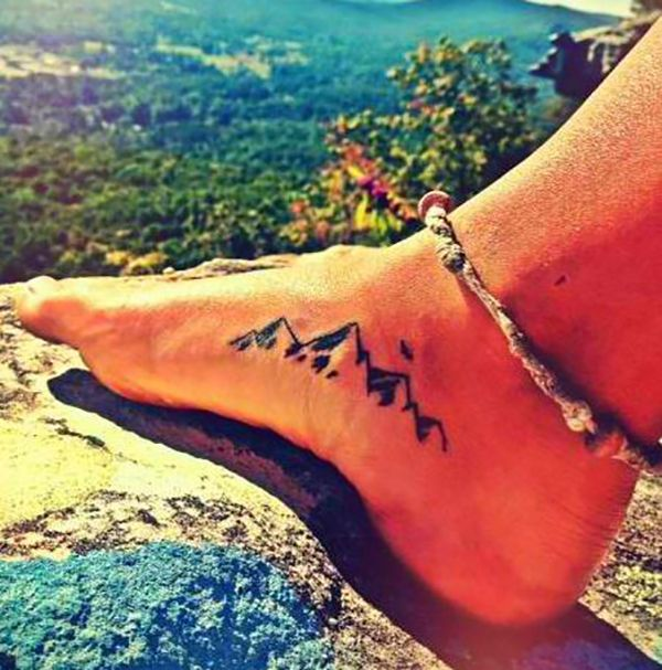 39 Awesome Tattoos For Anyone Who's Happiest Up A Mountain - Mpora