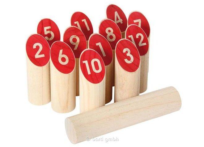 Nummern Kubb _Suchen ist vorhanden_ von Bartl bei Spielundlern online bestellen