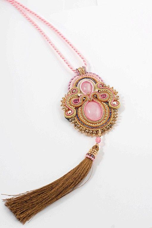 Кулоны, подвески ручной работы. Ярмарка Мастеров - ручная работа Подвеска с розовым кварцем. Handmade.