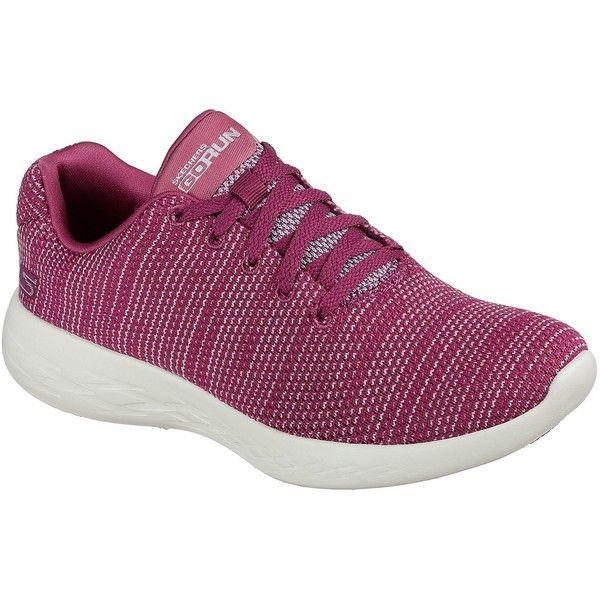 Skechers Women's Skechers Gorun - Obtain Pink 5.0 - Skechers... (1,155 EGP) ❤ liked on Polyvore featuring shoes, sneakers, pink, light weight shoes, skechers footwear, skechers shoes, pink shoes and skechers sneakers