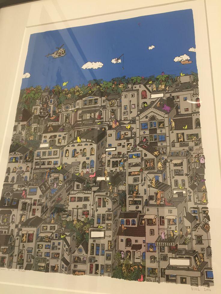 Inexpensive art for Children's Rooms:  Guillaume Cornet at Decorazon.  MK Semos  mk@decorazongallery.com