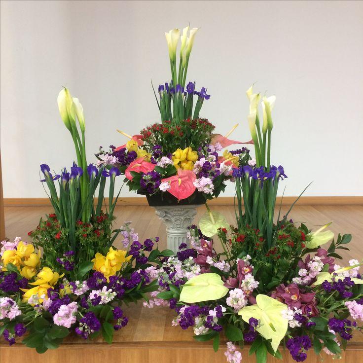 2017.3.12. This week's church flower decoration.