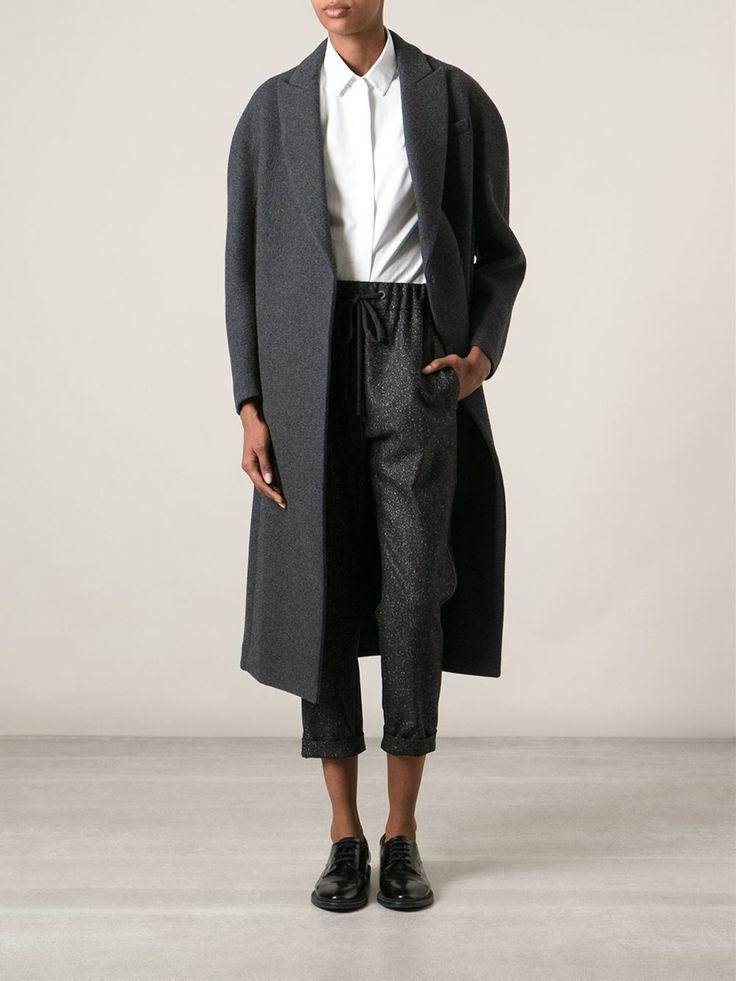 Brunello Cucinelli Loose Fit Cropped Trousers - Nugnes - Farfetch.com