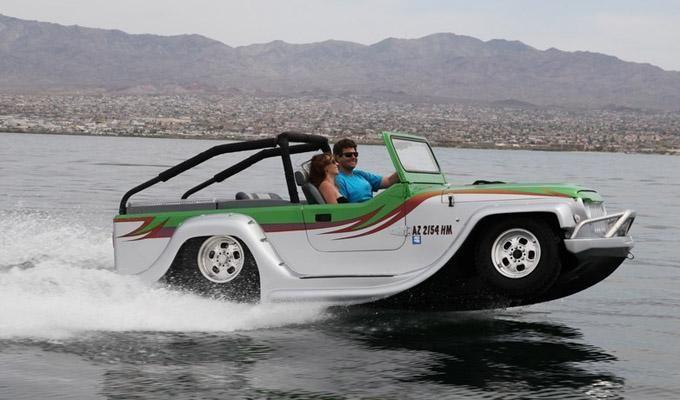 Amfibiecar WaterCar Panther