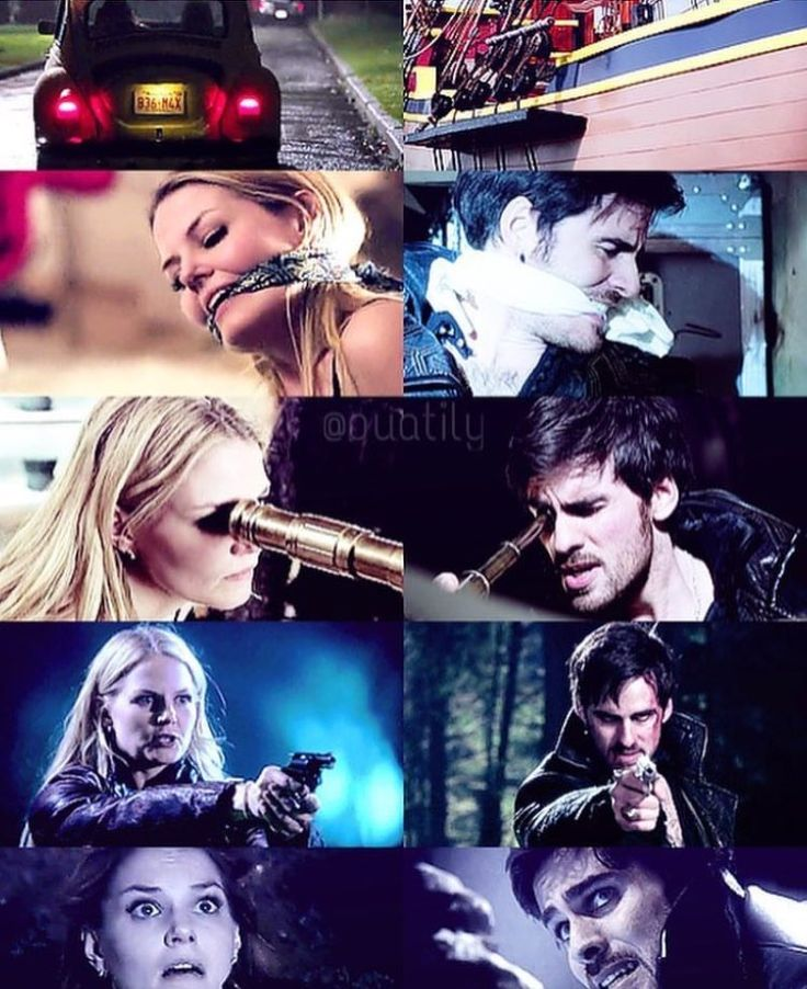 Captain Swan parallels before they were Captain Swan. (Not my edit.)