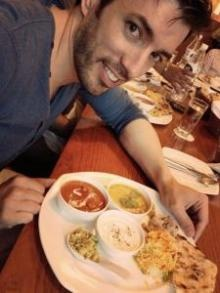 HGTV Property Brothers Feast on Indian Cuisine and Get Charitable - these handsome brothers do it all!
