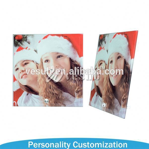 2015 fashion Beautiful Sublimation good quality acrylic countertop photo picture frames