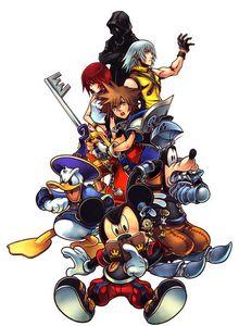 Kingdom Hearts coded -