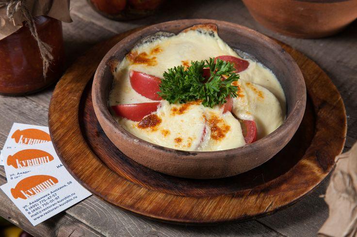 Сулугуни с помидорами - пошаговый рецепт с фото - как приготовить, ингредиенты…