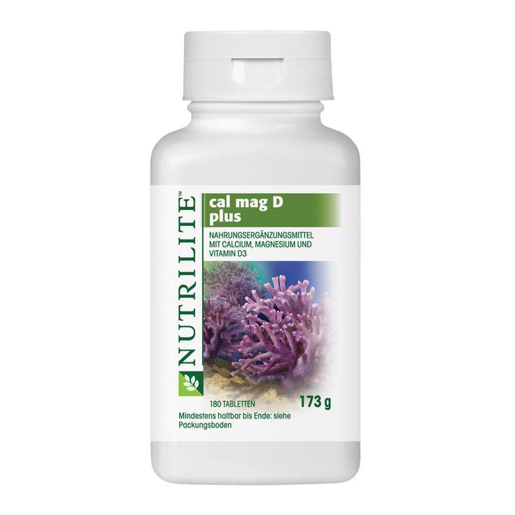NUTRILITE™ Cal Mag D Plus | Amway