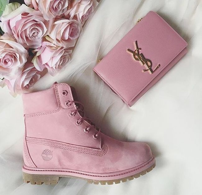 Pink Timberland Boots for Fall | BeautiliciousD | Bloglovin'