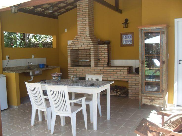 Área com churrasqueira: dicas de decoração