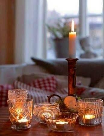 Eclairage bougies