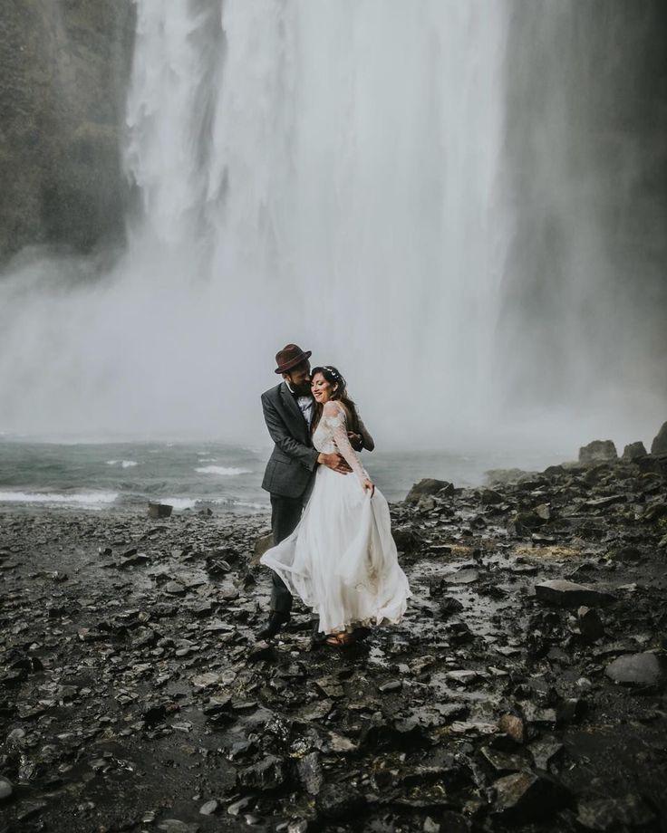 When @igordemba catches you under a waterfall in Iceland.. that's a bit of pure magic huh ⭐️ • • • • • #wearetheweddingcollective #modernwedding #thisismycommunity #ukwedding #creativehappenings #indiebride #createcommune #loveauthentic #thevisualscollective #creativebride #weddingtrends #postthepeople #freedomthinkers #peoplecreatives #visualsgang #radlovestories #bohobride #weddinginspiration #exploretocreate #elopement #modernbride #dirtybootsandmessyhair #iceland