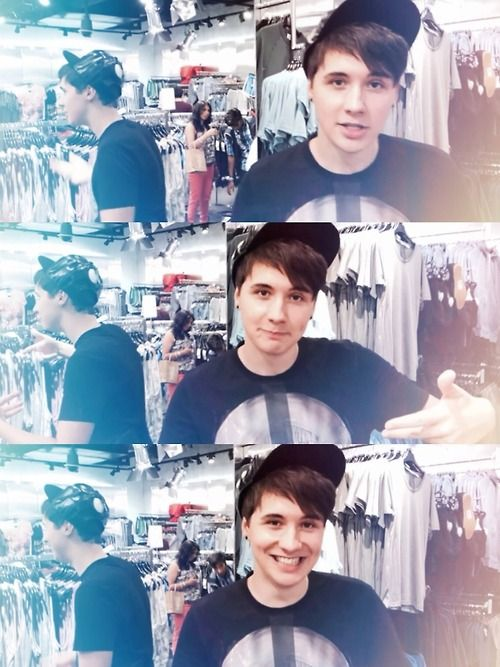 Dan Howell - such a cutie inside and out! danisnotonfire